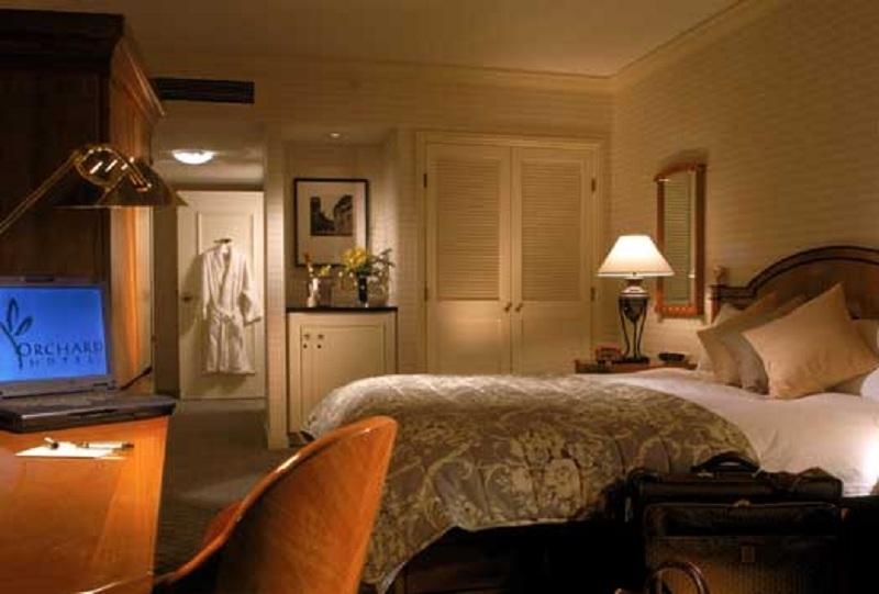 orchard hotel interior